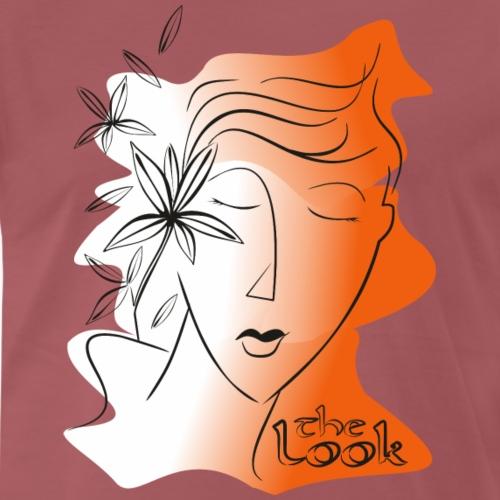 Cara 5 naranja (serie The Look) - Camiseta premium hombre