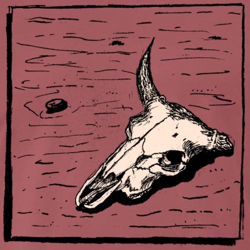 Skull in the Desert - Men's Premium T-Shirt