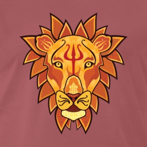 Lion - Premium T-skjorte for menn