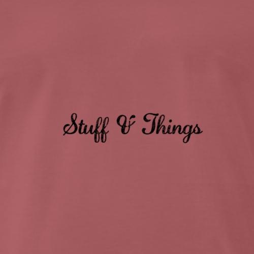 Stuff & Things - Men's Premium T-Shirt