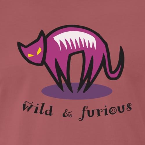 wild & furious - Männer Premium T-Shirt