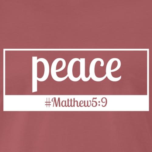 Peace - Koszulka męska Premium