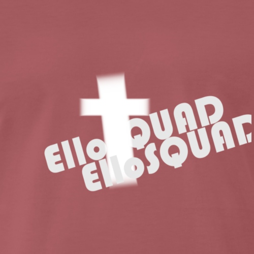 ElloSQUAD Christ + - Koszulka męska Premium