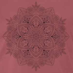 Mandala hand drawn, - Men's Premium T-Shirt