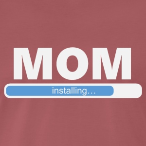 Installation MOM (1058) - Herre premium T-shirt