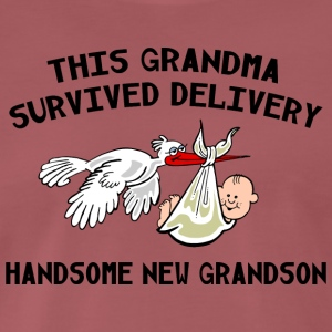 New Grandma Grandson - Men's Premium T-Shirt