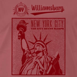 New York City · Williamsburg - Mannen Premium T-shirt