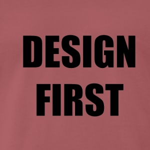Design First - Männer Premium T-Shirt