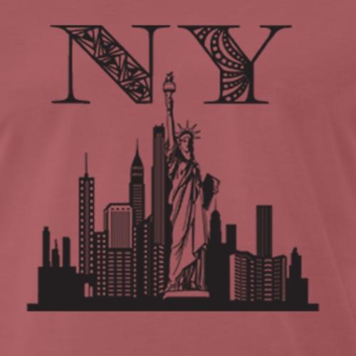 Diseño New York City - Camiseta premium hombre