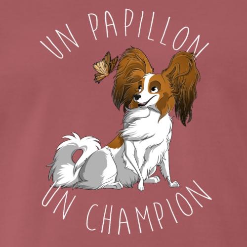 Papillon champion - T-shirt Premium Homme