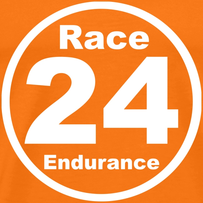Race24 round logo white