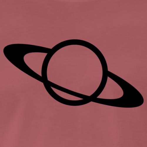 planet - Premium-T-shirt herr