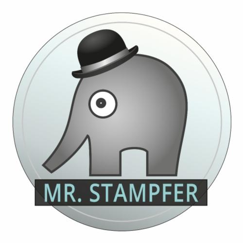 Mr. Stampfer Elefant - Männer Premium T-Shirt