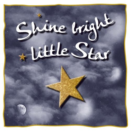 Shine bright / leuchte hell kleiner Stern - Männer Premium T-Shirt