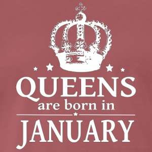 January Queen - Men's Premium T-Shirt