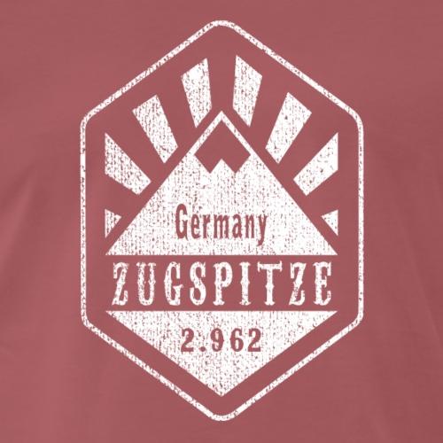 Zugspitze Wappen - weiß - Männer Premium T-Shirt