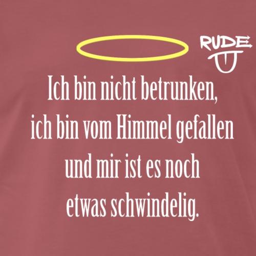 BetrunkenerEngel - Männer Premium T-Shirt