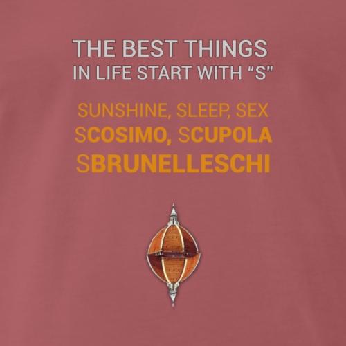 sCOSIMO sCUPOLA - Maglietta Premium da uomo