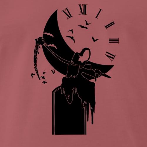 La faucheuse noir - T-shirt Premium Homme