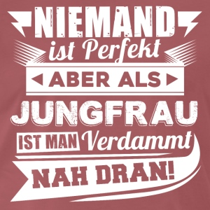 Niemand is perfect - Virgo T-shirt en hoodie - Mannen Premium T-shirt