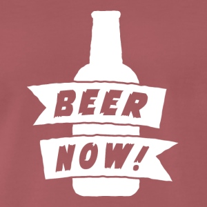 Beer Now - Männer Premium T-Shirt