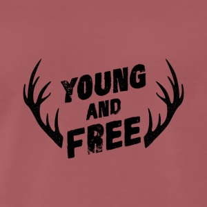 Young and Free - Premium-T-shirt herr