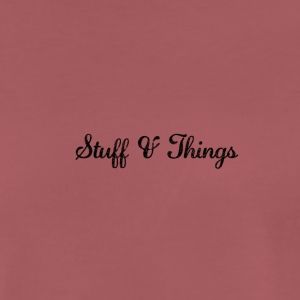 Stuff & Things - Mannen Premium T-shirt