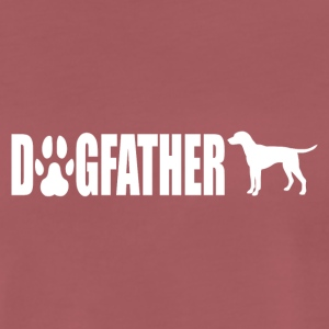Dogfather - Premium T-skjorte for menn