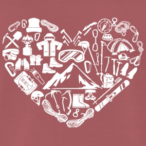 mountain heart - Men's Premium T-Shirt