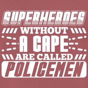 SUPER HEROES POLICE - T-shirt Premium Homme