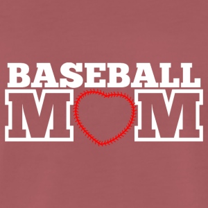 Baseball mom - Mannen Premium T-shirt