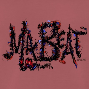 MA BEAT 2 ARTwork by BEATZ.Art font design - Men's Premium T-Shirt