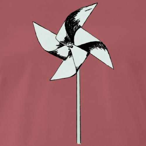 Windrad - Männer Premium T-Shirt