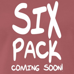 sixpack coming soon - Mannen Premium T-shirt