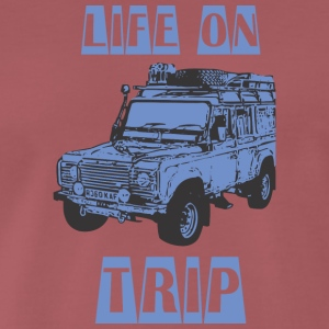 LIFE ON TRIP - Men's Premium T-Shirt