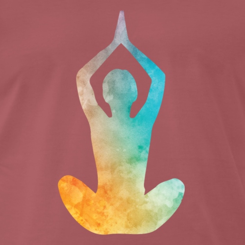 Yoga fließende Energie - Männer Premium T-Shirt