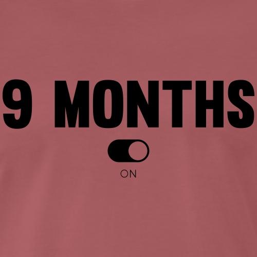 9 MONTHS - T-shirt Premium Homme