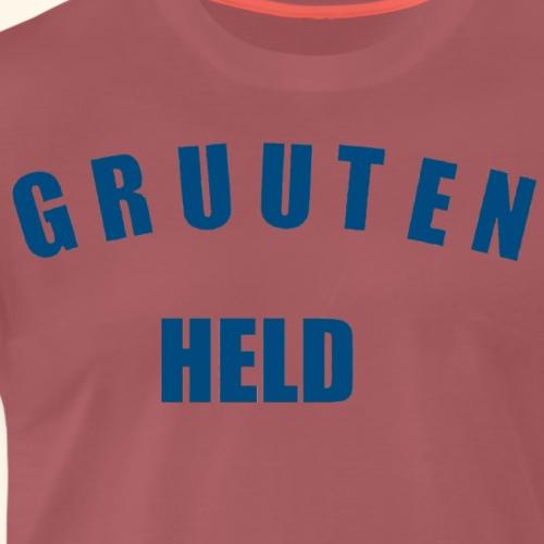 GRUUTENHELD - Mannen Premium T-shirt