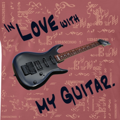 In love with my guitar