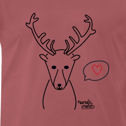 Hert & liefde - T-shirt Premium Homme