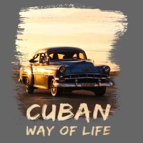 Kuba, Cuba, Cuban way of life, Oldtimer, Urlaub - Männer Premium T-Shirt