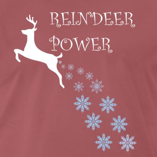 Reindeer Power Snowflakes