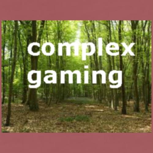 complex gaming woods! - Men's Premium T-Shirt