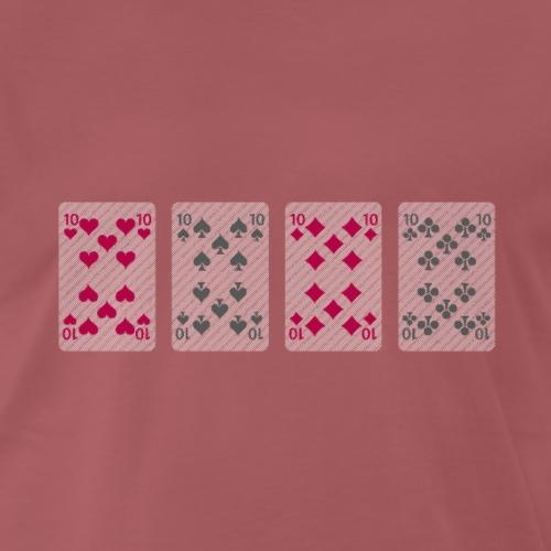Card Game - Men's Premium T-Shirt