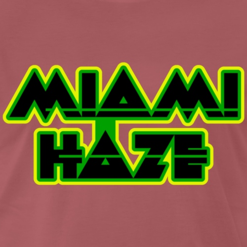 Miami Haze Retro Geschenk - Männer Premium T-Shirt