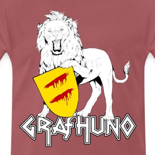 Ostfriesland Häuptlinge Graf Huno von Rastede - Männer Premium T-Shirt