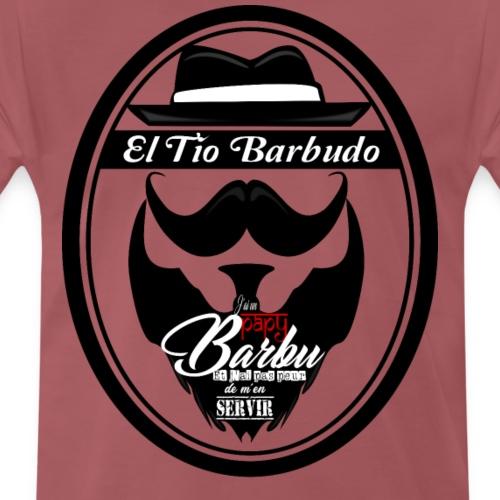 Papy Barbu - T-shirt Premium Homme