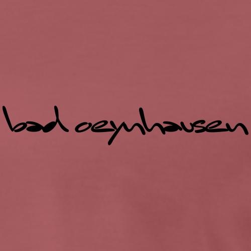 New York, Rio, Bad Oeynhausen - Männer Premium T-Shirt