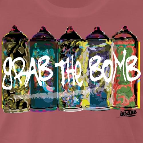 Grab the bomb - T-shirt Premium Homme