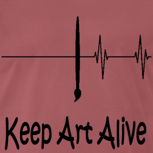 keep art alive - T-shirt Premium Homme